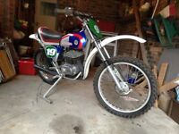 Classic twinshock Bultaco 250