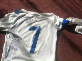 Sol Campbell signed shirt