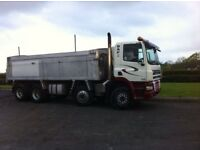 2006 DAF 85CF 8x4 Tipper Lorry