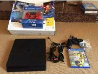 PS4 Slim and extra controller