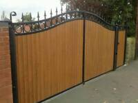 New wrought iron driveway gates various sizes available
