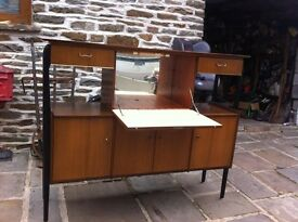 VINTAGE Nathan Retro Rare Drinks Cabinet Sideboard £100
