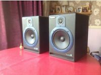 Samson resolv 80a studio monitors stereo pair