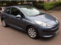 Immaculate ** PEUGEOT 207 S ** '07 plate w/ 53,000 MILES! and 10 MONTH MOT & BRAND NEW TYRES!