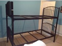 Black Bunk Beds *Good condition*
