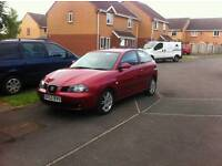 Seat Ibiza 1.4 petrol 2003 11 months MOT