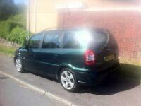 Reliable Vauxhall Zafira, Sri Diesel 2004 (54) Green MPV, Long mot