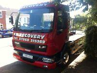 breakdown car and van recovery plym