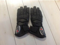 Womens RST motorbike gloves.