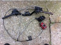 Gilera Runner Sp125 Complete Front & Rear Brakes heli braided lines.
