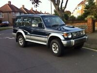 Mitsubishi Shogun GLS LWB Estate Blue 2.8 Turbo diesel 1996 VERY CLEAN 4X4