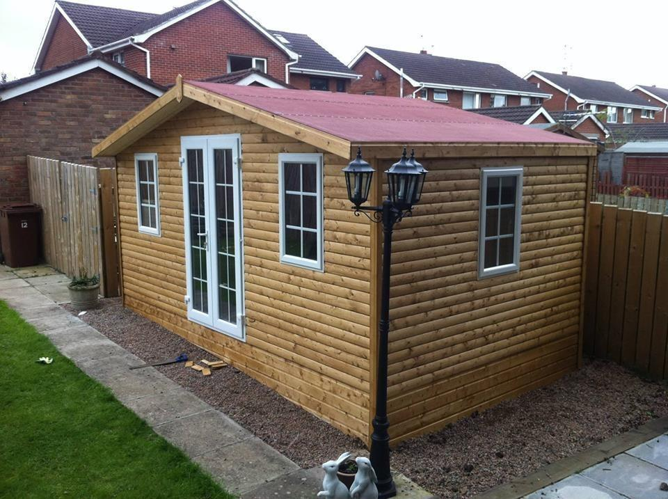 wow 12 months interest free credit on sheds summerhouses playhouses log cabins contact for - Garden Sheds Belfast