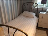 solid brass single bed