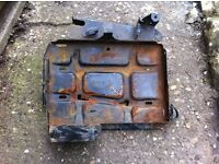 Ford Transit Mk1 - Mk5 Metal battery tray very solid