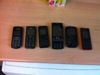 6 X Mobile phones All untested £20 all 6 Sutton Surrey