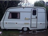SWIFT CORNICHE 1991 2 BIRTH CLEAN WELL LOOKED AFTER MODERN LOOKING CARAVAN, COMES WITH ALL EXTRAS