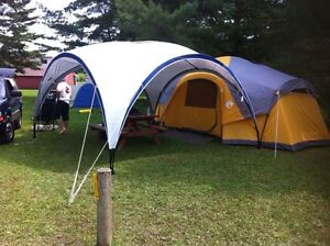 Coleman 19ft x 12ft Canyon Ranch Tent with LED Lighting