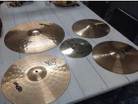 Paiste Alpha cymbal set