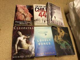 Paperback books - £2 each