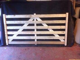 Wooden Sheep Hurdles