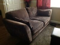 3 Seater sofa and snuggle chair - £175ono