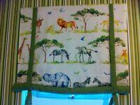 Kids Safari Blinds & Matching Cushions