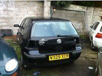 Volkswagen Golf S 5 Door 1.6 Petrol Spares/Breaking Only