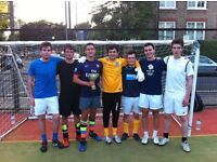 KENNINGTON 5 A-SIDE FOOTBALL LEAGUE £35