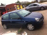 2003 Renault Clio 1.2 Years Mot £495 £495