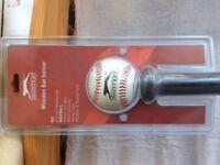 Brand New! Slazenger Baseball wooden Bat & Ball Senior Unused Sealed packaging. (Hounslow, TW4)