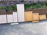 63 assorted kitchen doors
