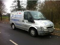 Ford Transit 2003 SWB Low Roof Silver 100BHP ZERO PREVIOUS OWNERS