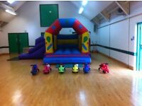 KIDS INDOOR INFLATABLE PLAY AREA COMING TO 1ST LARNE CHURCH