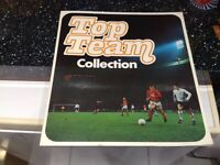 Top Team football collection, collector's item 1972 Esso