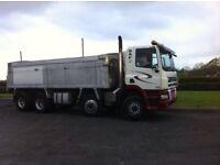 2006 DAF 85CF 8x4 Tipper Lorry