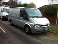 Ford Transit 2003 SWB Low roof Silver