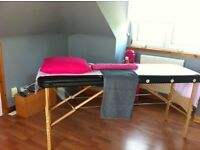 MASSAGE TABLE FOR SALE!!