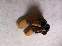 Brand New Birkenstock tan suede lace-up ankle boots Size 36 / 4 Originally expensive