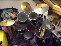 Mapex drum kit for sale £450