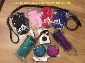 Dog Leads & Collars / Hoodies / Food and water Bottle/Bowls all BRAND NEW!