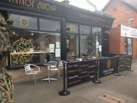 Fully Licensed Established and popular Tearoom and cocktail Bar Prestatyn North Wales