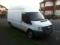 Ford Transit 2007 LWB High Roof 2.4 TDCi RWD 140BHP 6 speed nearly 1 years MOT