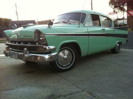 Chrysler Royal AP2 Restoration Project 1958