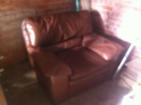 free red/brown chair