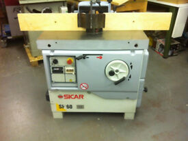 SICAR 3 Phase Spindle Moulder, Can Pallet