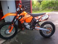 KTM 125 SX 2006 Mint Bike Quick Sale