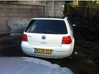 Volkswagon Golf S 5 Door Hatchback 1.4 petrol Spares/Breaking Only