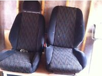 Vauxhall corsa b Sxi seats
