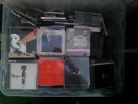 LARGE BUNDLE OF COLLECTOR'S EDITION CD'S - OVER 200 ALBUMS! - eXCELLENT CONDITION - CONTAINER