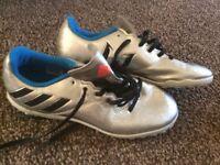 adidas messi football boys size 4 uk